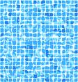 Blue ceramic tiles vector