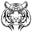 Tiger tribal tattoo vector