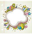 Bubble doodle vector