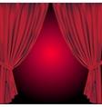 Theatre curtain vector