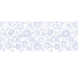 Purple textile flowers texture horizontal seamless vector