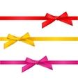 Ribbon bows vector