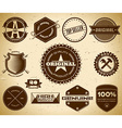Vintage labels collection 20 vector