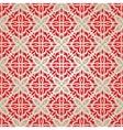 Red vintage wallpaper vector