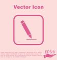 Pen or pencil writing on a sheet vector