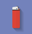 Icon of lighter flat style vector