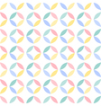Colorful seamless geometric circle pattern vector
