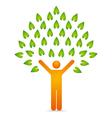 Human tree vector