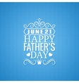 Fathers day vintage design background vector