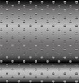 Abstract dotted metal background design vector