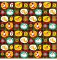 Christmas seamless background plaid pattern vector