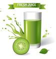 Fresh juice background vector