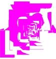 Tiles pink vector
