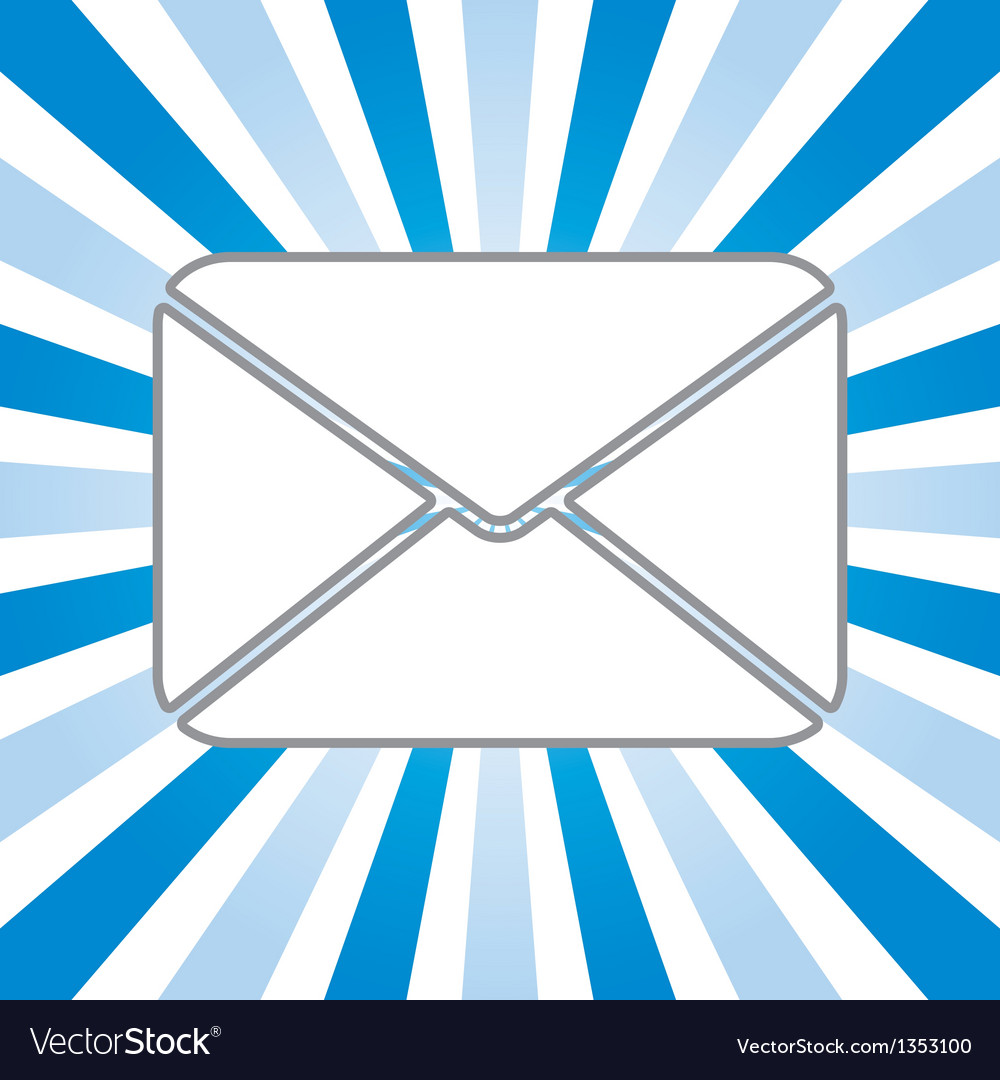 Icon of envelope vector | Price: 1 Credit (USD $1)