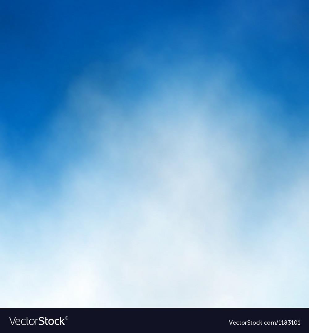 Blue sky cloud vector | Price: 1 Credit (USD $1)
