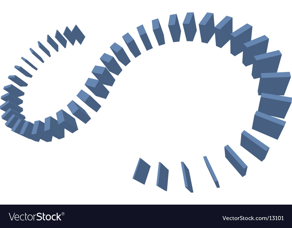 Digital boxes formation vector | Price: 1 Credit (USD $1)