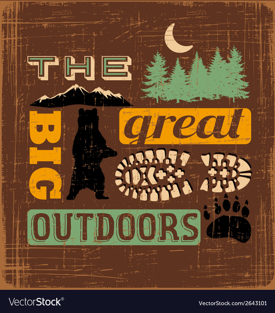 Great outdoors1 vector | Price: 1 Credit (USD $1)