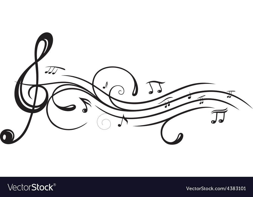 Music song vector | Price: 1 Credit (USD $1)