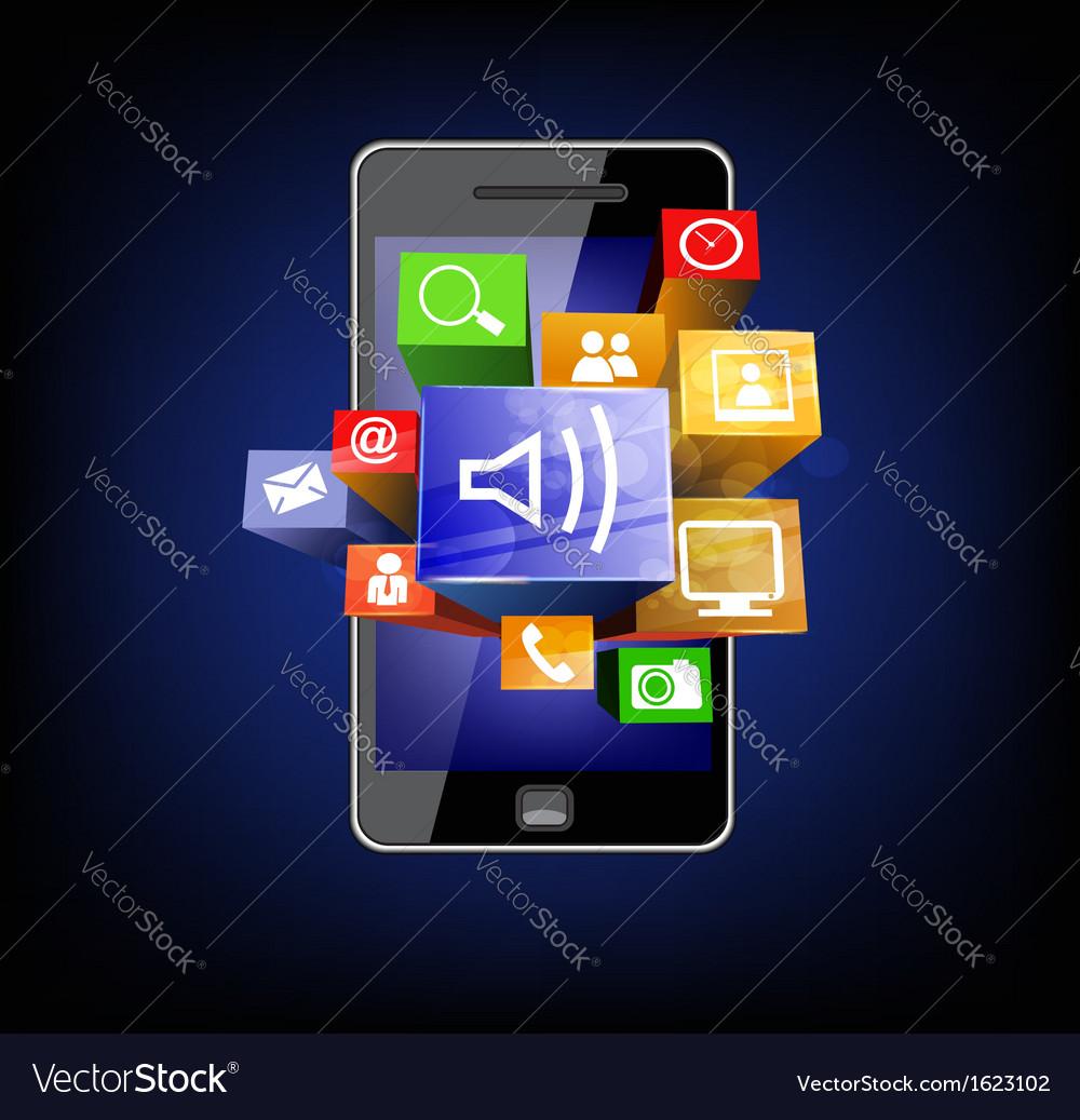 Communicator vector | Price: 1 Credit (USD $1)