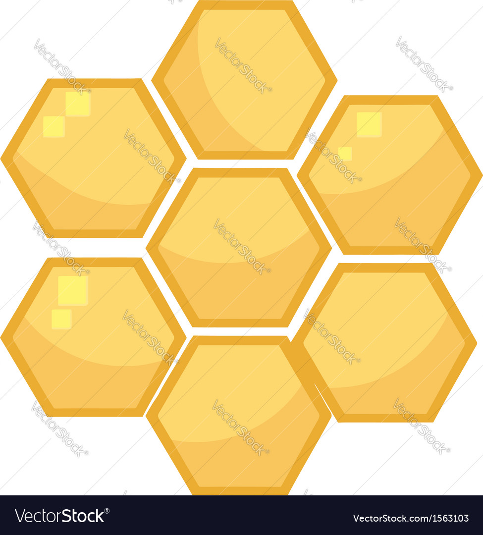 Cartoon bee hive vector | Price: 1 Credit (USD $1)