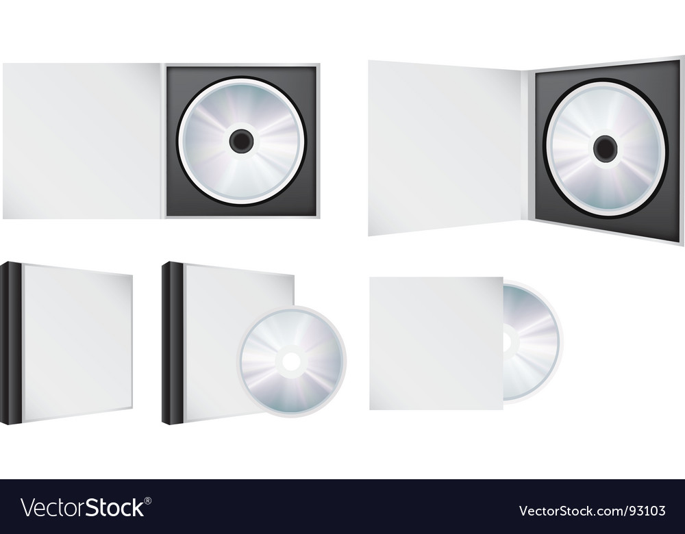 Cd set vector | Price: 1 Credit (USD $1)