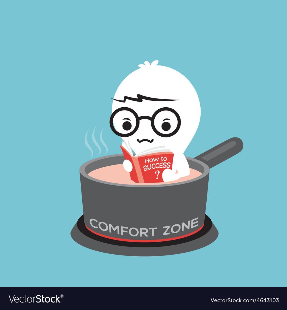Comfort zone conceptual cartoon vector | Price: 1 Credit (USD $1)