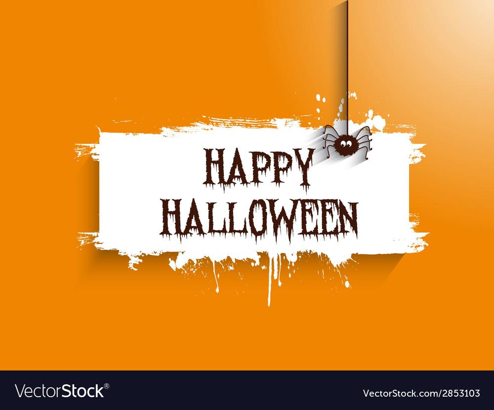 Halloween spider background 2508 vector | Price: 1 Credit (USD $1)