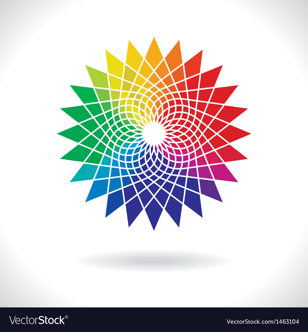 Circle colorful elements vector | Price: 1 Credit (USD $1)
