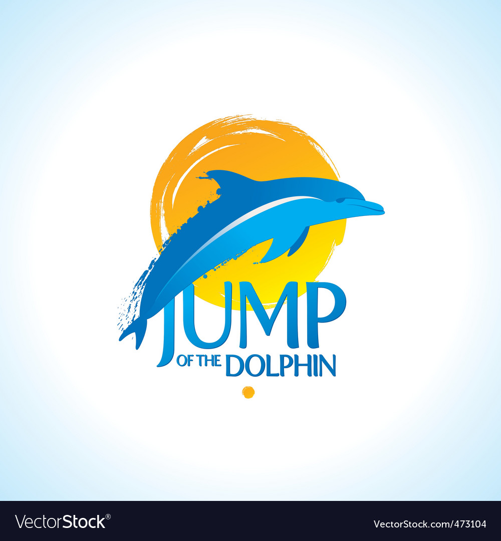 Dolphin logo vector | Price: 3 Credit (USD $3)