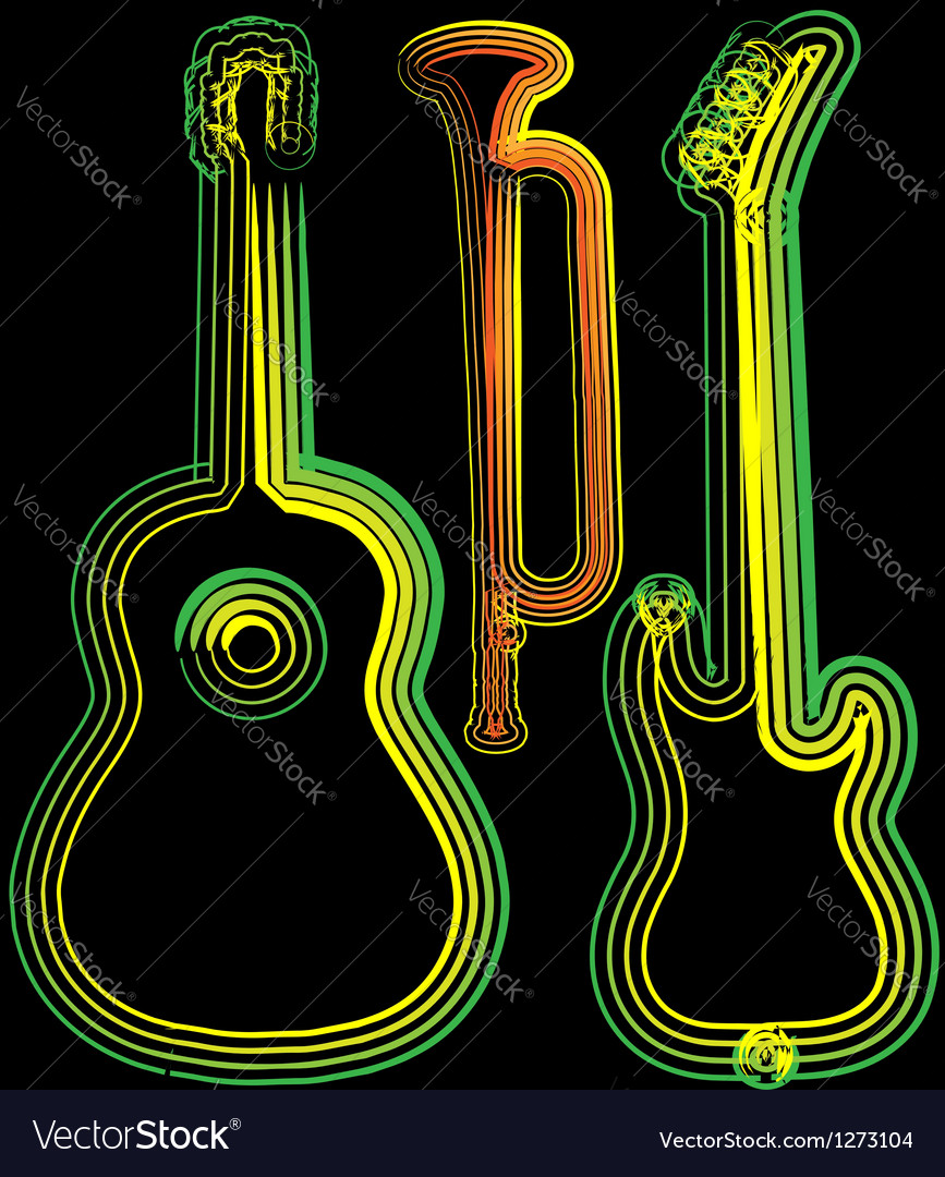 Music instrument vector | Price: 1 Credit (USD $1)
