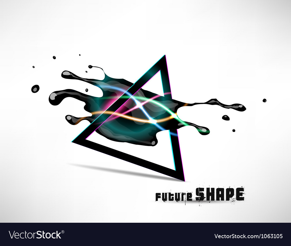 Abstract futuristic shapes of background for vector | Price: 1 Credit (USD $1)