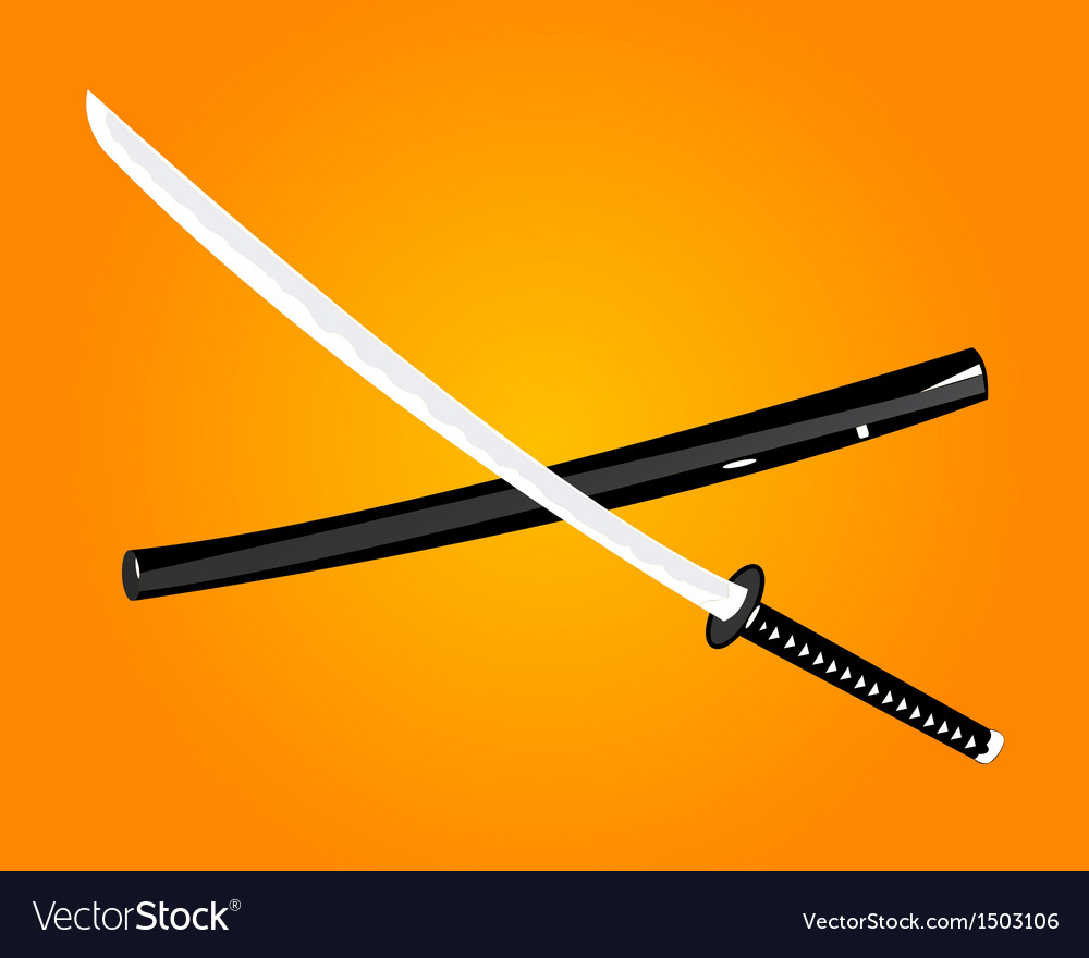 Katana vector | Price: 1 Credit (USD $1)