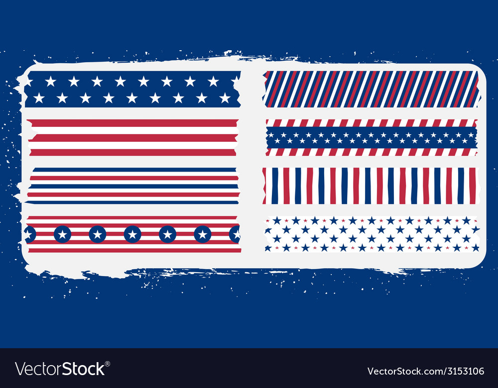 Star and bars tape vector | Price: 1 Credit (USD $1)