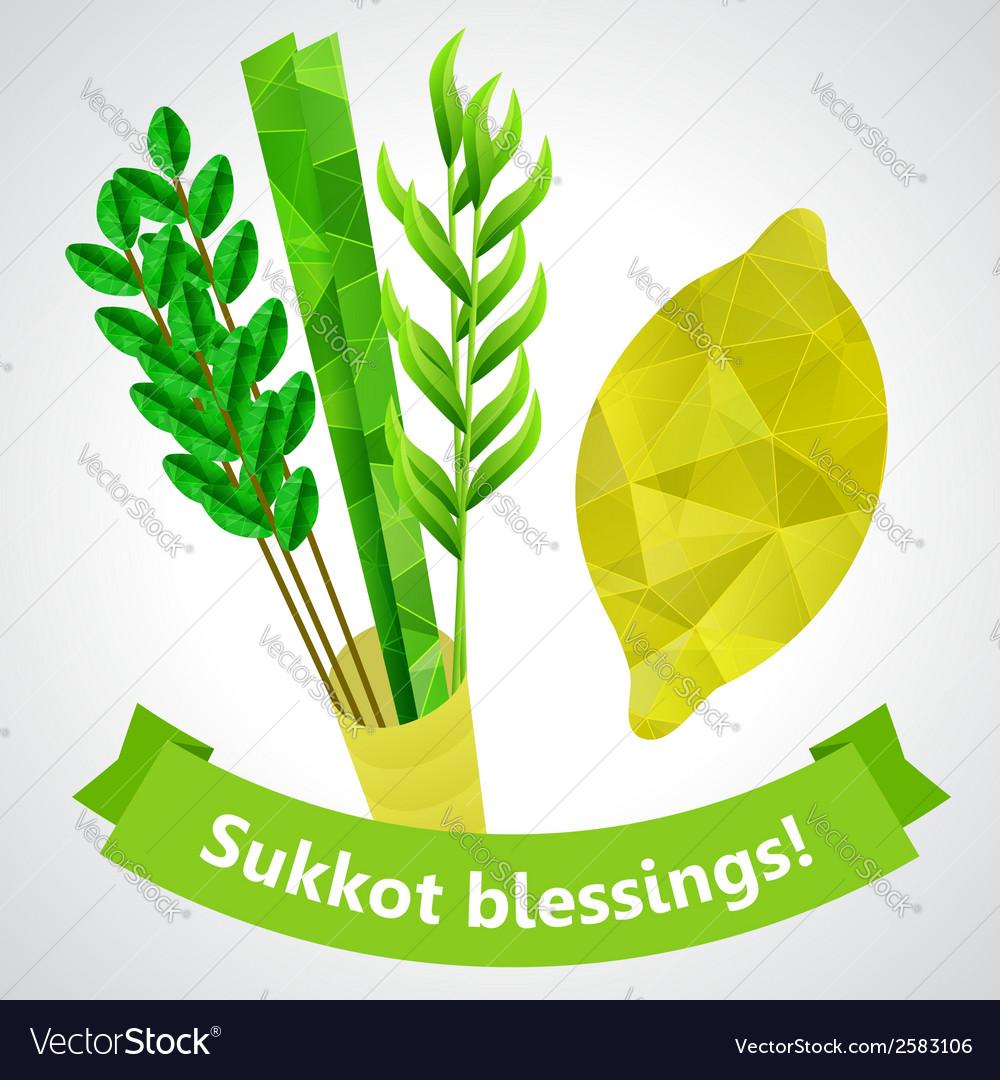 Sukkot symbols vector | Price: 1 Credit (USD $1)