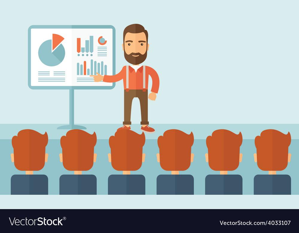 Business presentation vector | Price: 1 Credit (USD $1)