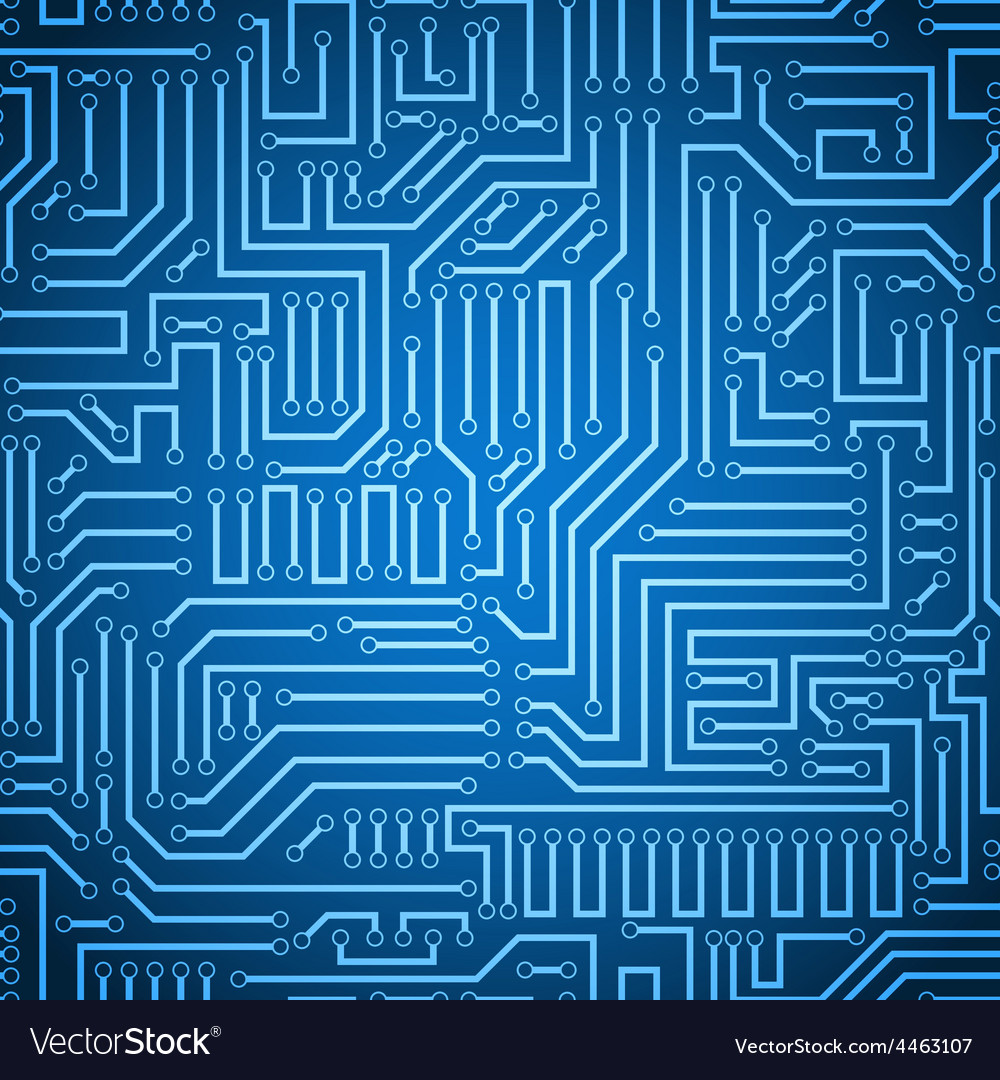 Circuit pattern vector | Price: 1 Credit (USD $1)