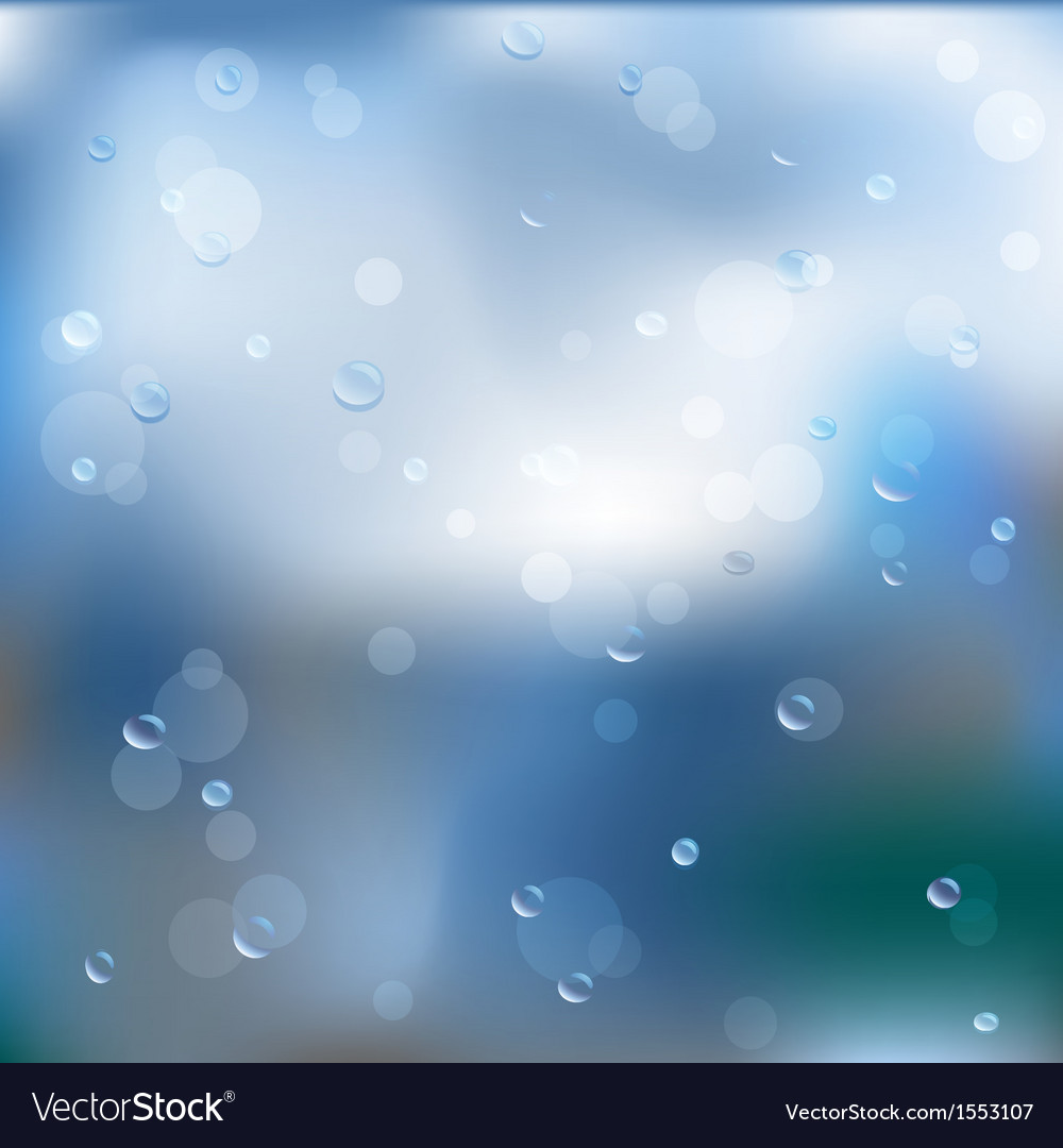 Rain water abstraction vector | Price: 1 Credit (USD $1)