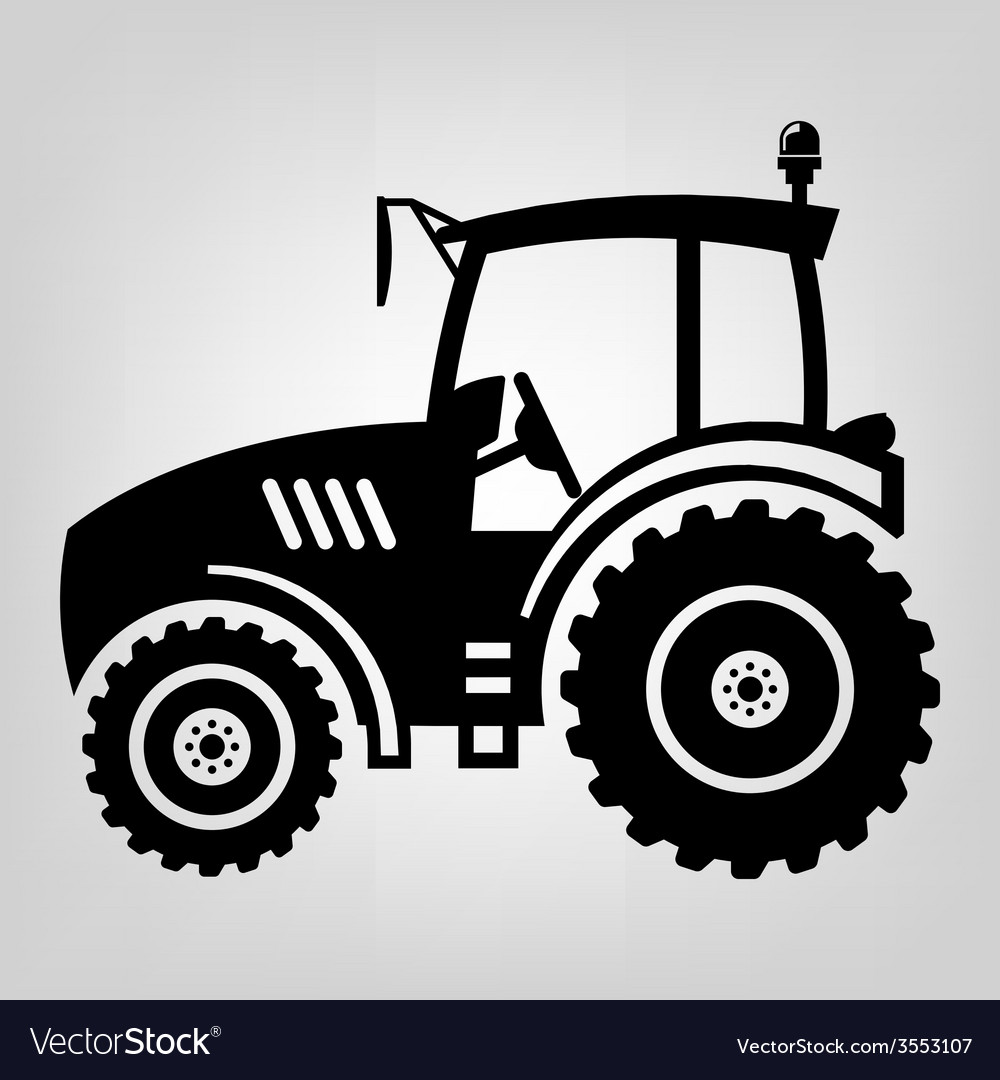 Tractor icon vector | Price: 1 Credit (USD $1)