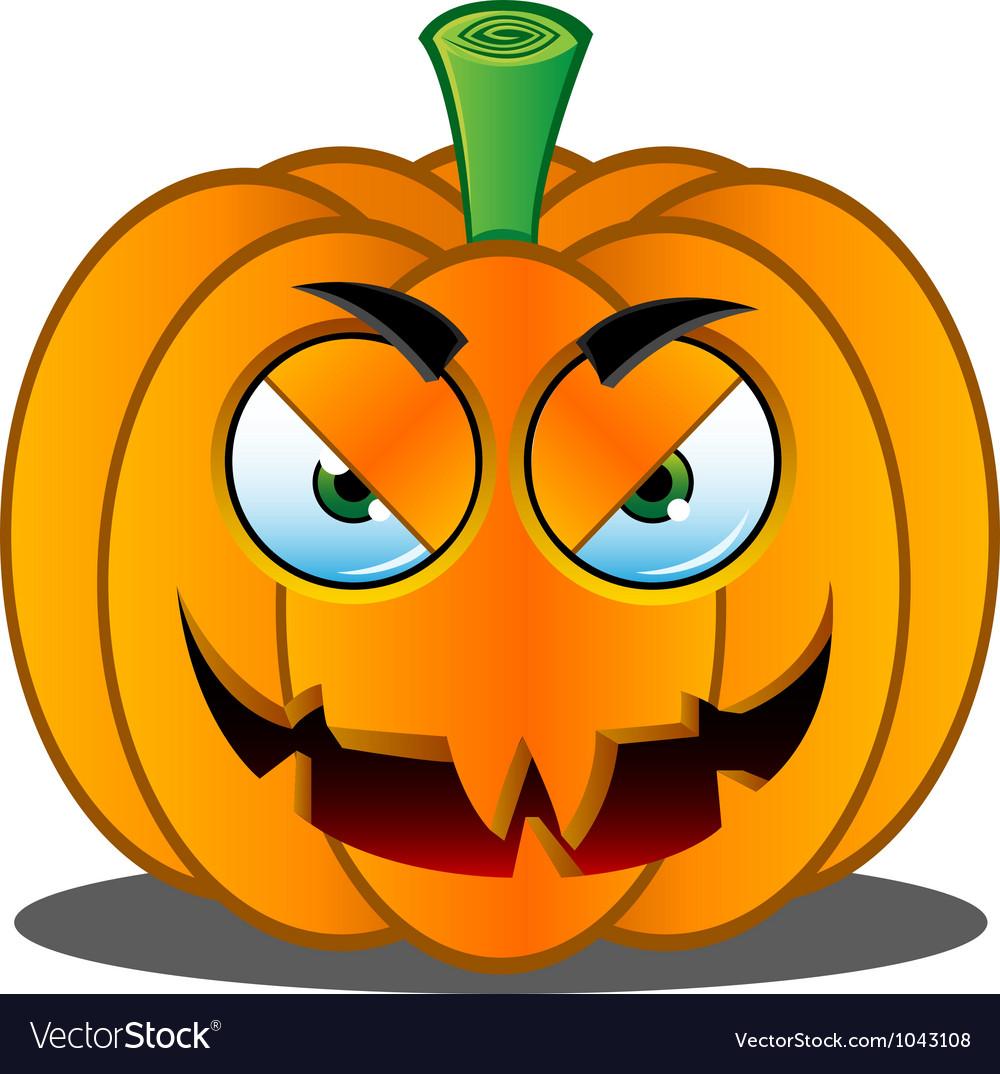 Pumpkin face 17 vector | Price: 1 Credit (USD $1)