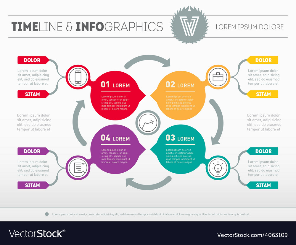 Web template for circle diagram or presentation vector | Price: 1 Credit (USD $1)