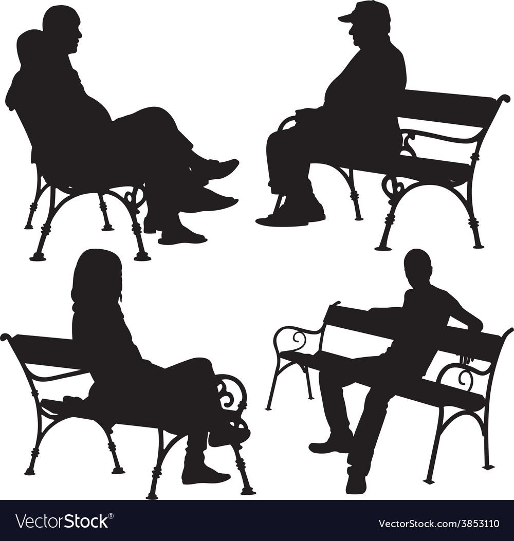 Bench people vector   Price: 1 Credit (USD $1)