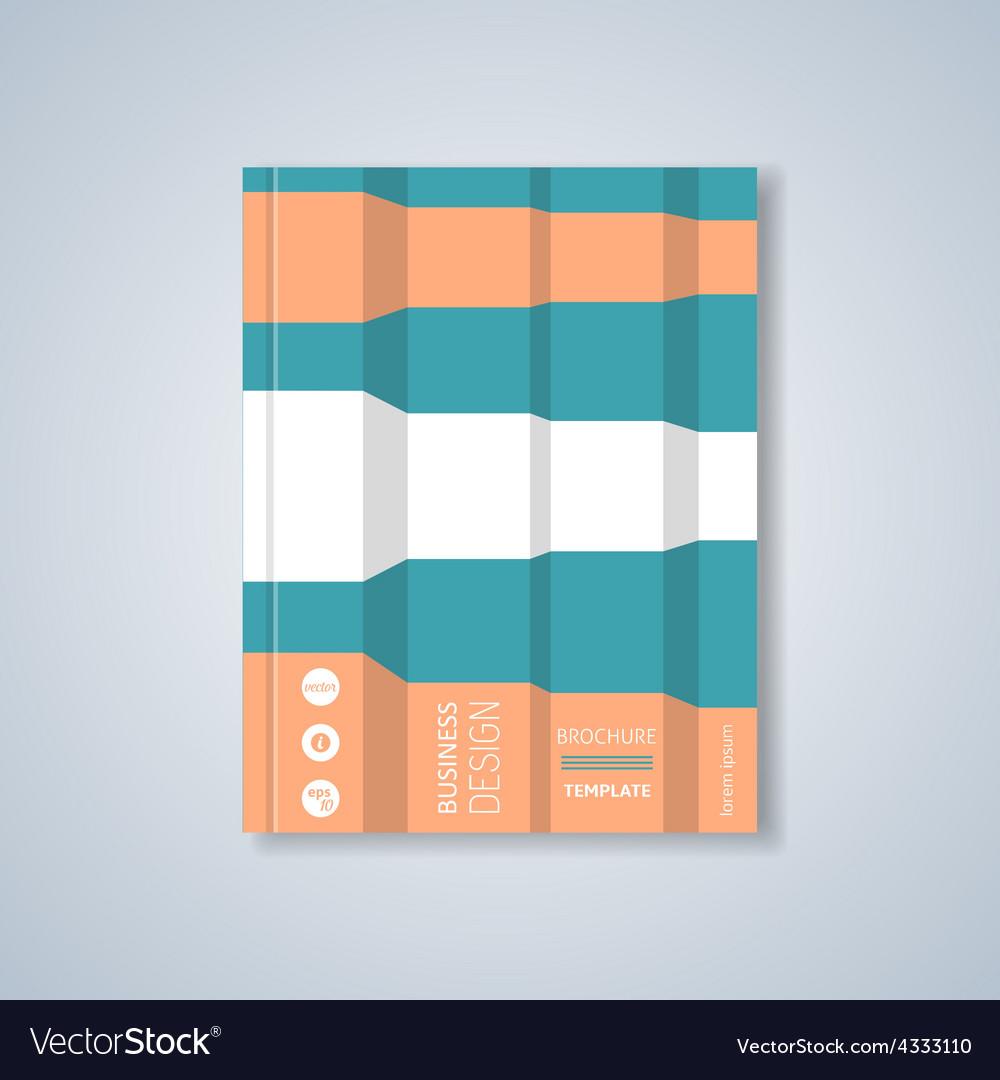 Brochure design layout vector | Price: 1 Credit (USD $1)