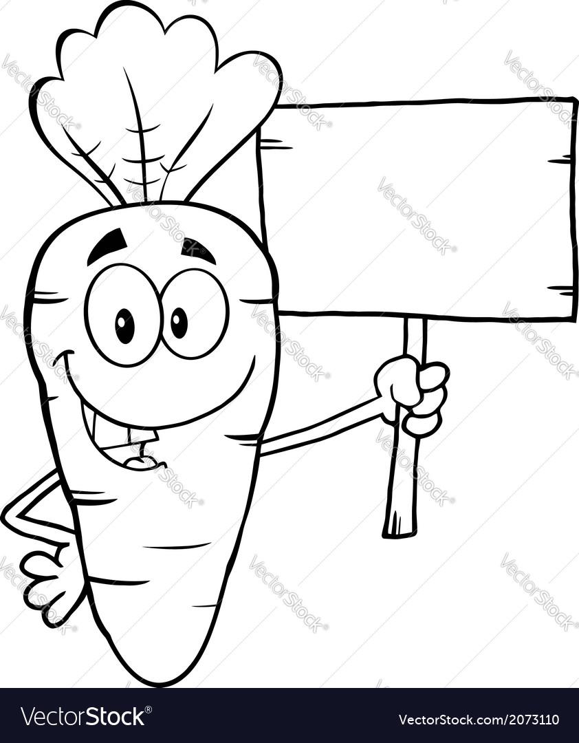 Cartoon carrot vector   Price: 1 Credit (USD $1)