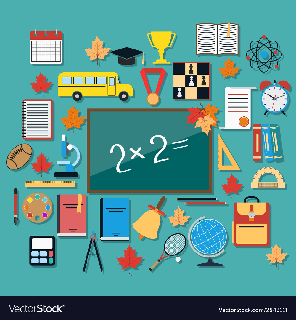 Education flat concept vector   Price: 1 Credit (USD $1)