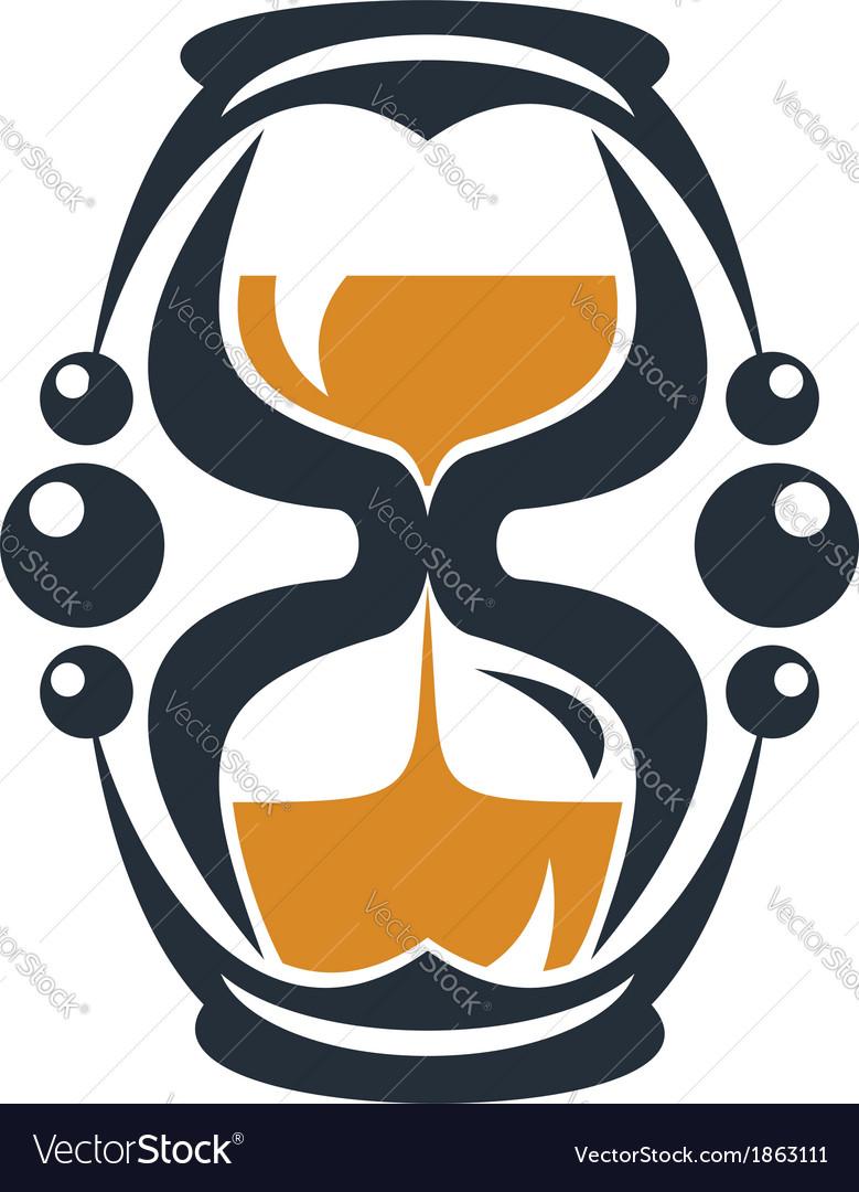 Hourglass symbol vector | Price: 1 Credit (USD $1)
