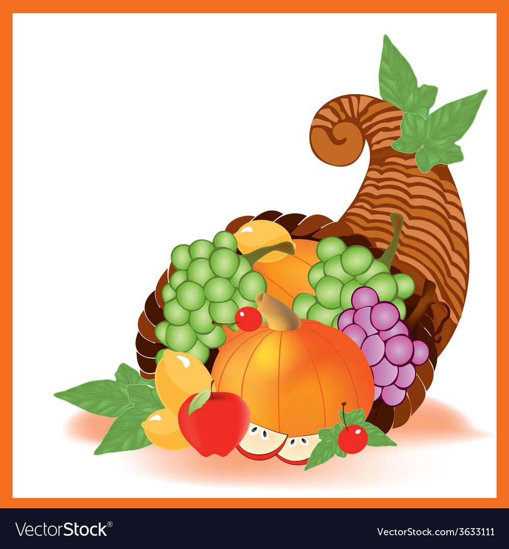 Thanksgiving day food vector | Price: 1 Credit (USD $1)