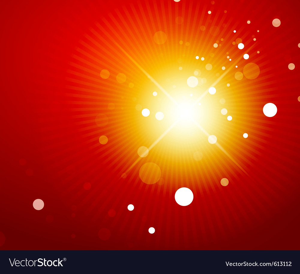 Orange shiny abstract background vector | Price: 1 Credit (USD $1)