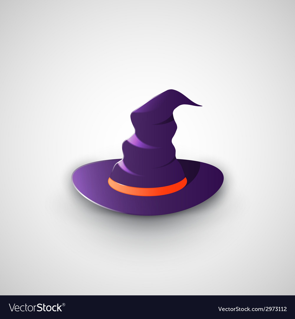 Witchs hat vector | Price: 1 Credit (USD $1)