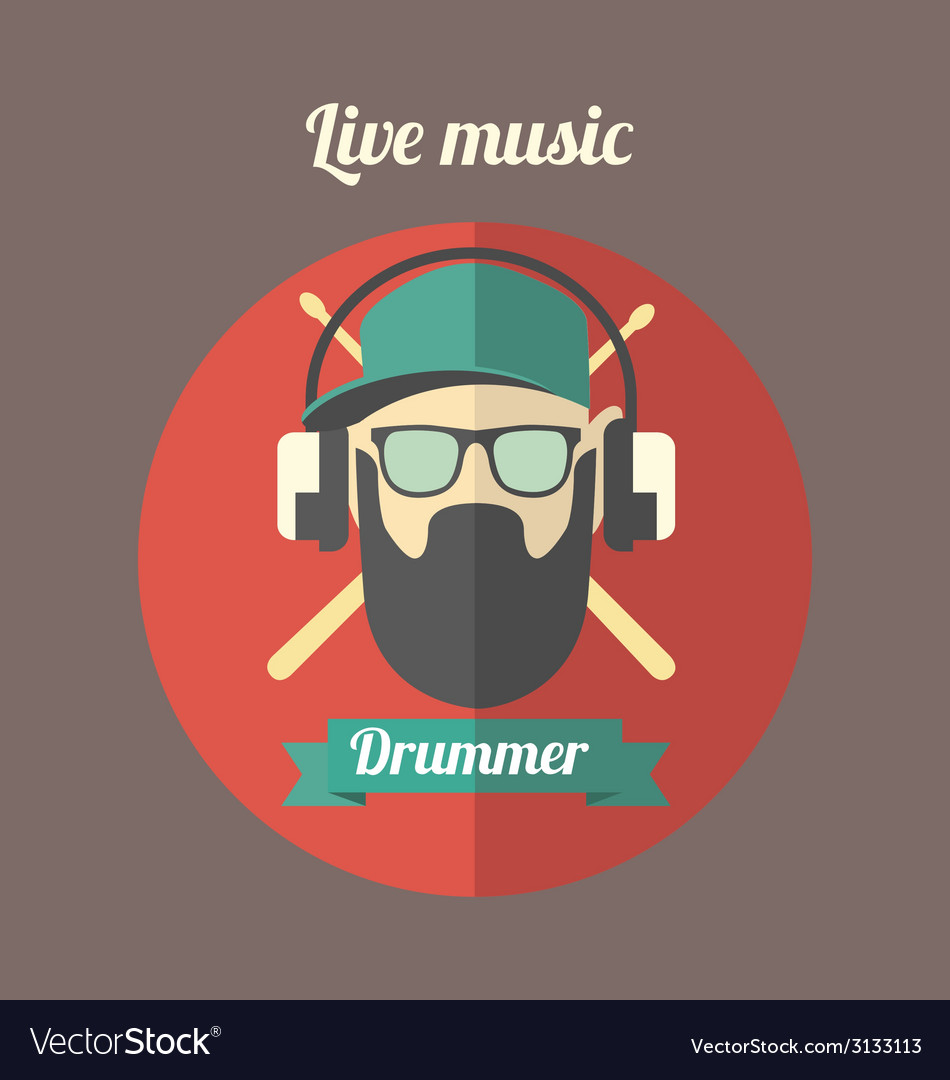 Drammer vector | Price: 1 Credit (USD $1)