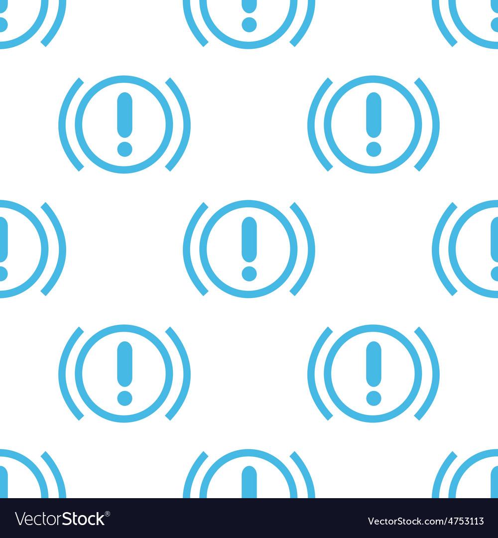 Flat alert pattern vector | Price: 1 Credit (USD $1)